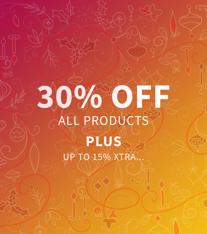 30% OFF - Plus up to Xtra 15% off