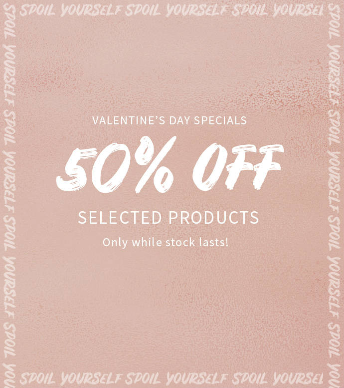 Sale on selected products
