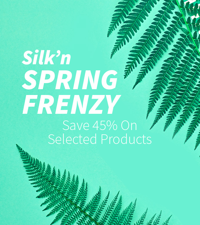Silk'n Spring Frenzy - 45% OFF Selected Products