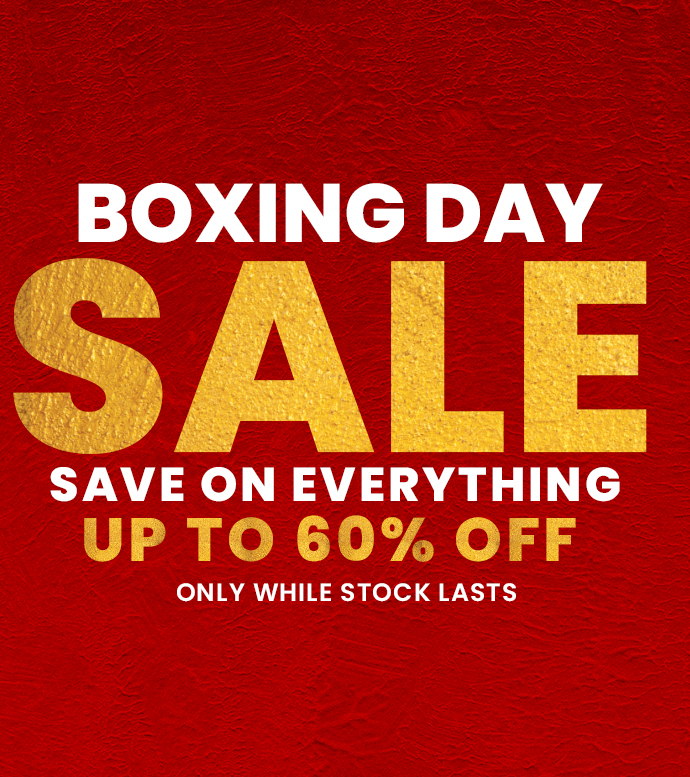 Boxing Day Sale.- up to 60% OFF